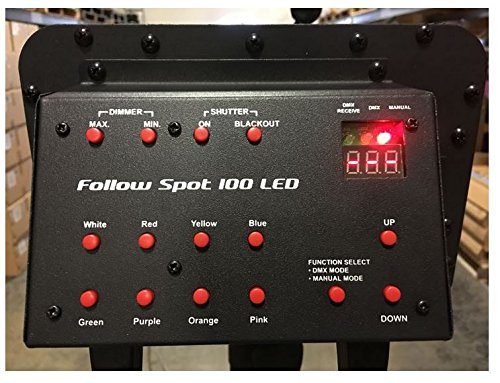 Eliminator Lighting Follow Spot 100LED Lighting Effect