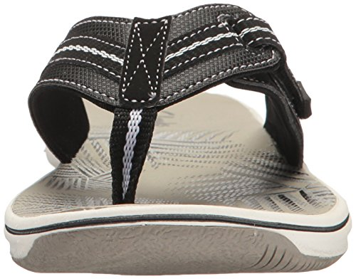 Black Flip Jazz Women's Flop Clarks Synthetic Brinkley XzAtw