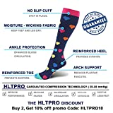 Compression Socks for Women & Men 20-30 mmHg - 2 to