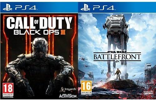 Call Of Duty: Black Ops III + Star Wars: Battlefront: Amazon.es: Videojuegos