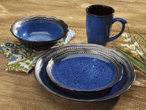 Handmade Stoneware Dinner Sets Uk Dinnerware Amazon Blue Collection Piece  Accessories