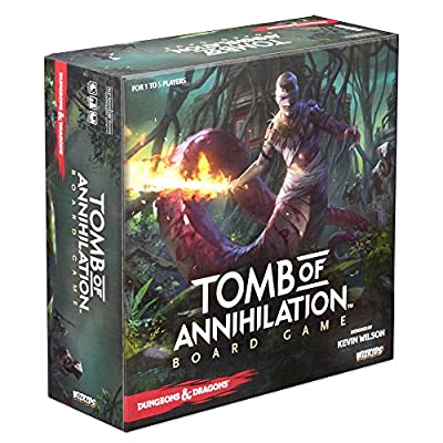 WizKids Dungeons & Dragons Tomb of Annihilation Adventure Strategy Board Game by Flahc