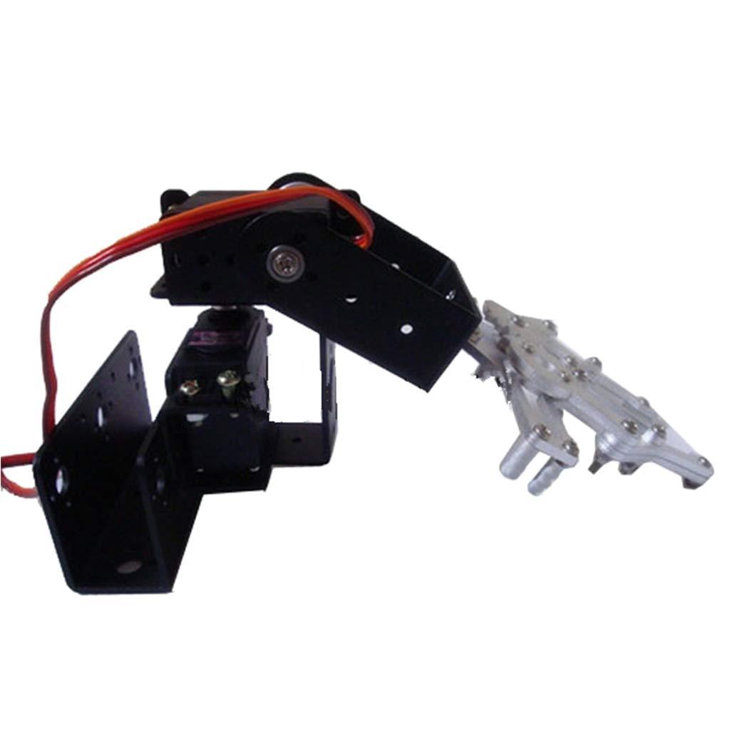 FLAMEER Kit de Construcción de Brazo Robótico Starter Soporte Garra Mecánico 3 DOF Modelo Arm Service: Amazon.es: Juguetes y juegos