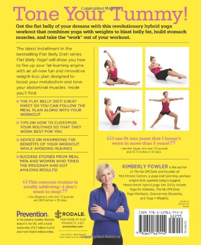 Flat Belly Yoga The 4 Week Plan To Strengthen Your Core Fowler Kimberly Editors Of Prevention 9781609619442 Amazon Com Books