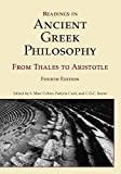Readings in Ancient Greek Philosophy 4th Edition