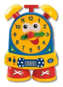 Amazon.com: Telly the Teaching Time Clock: Toys & Games