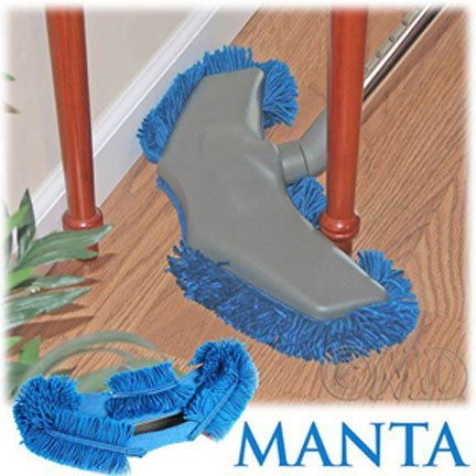 Manta Mop Dust Mop Vacuum Accessory by M.D. Manufacturing