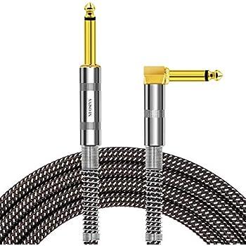 Amazon.com: Donner Guitar Cable 18 ft, Premium Electric Instrument ...