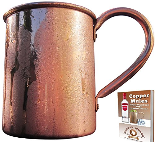 100% Pure Copper Moscow Mule Mug  Premium Handcrafted Qualit