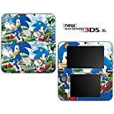 Sonic Generations The Hedgehog Decorative Video Game Decal Cover Skin Protector for New Nintendo 3DS XL (2015 Edition)