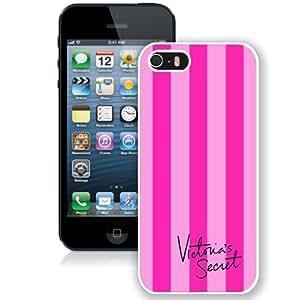 Hot Sale 5S Case,White Victoria'S Secret Love Pink 37 iPhone 5S Screen Phone Case Unique and Fashion Design