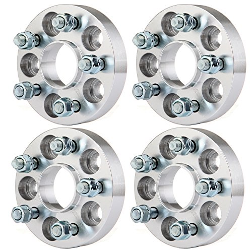 SCITOO 5 Lug Hubcentric Wheel Spacers 5x100 4X 1 25mm 5x100mm 12x1.25 Studs Compatible with Scion FR-S Subaru Outback Subaru BRZ Baja Forester Impreza Legacy