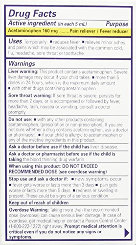 AmazonCom Little Remedies Infant Acetaminophen FeverPain Reliever