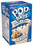 Pop-Tarts, Frosted Blueberry Muffin, 8-Count Tarts (Pack of 12)