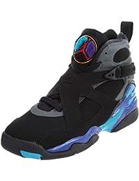finest selection b0e2c 27f08 Nike Air 8 Retro Aqua (GS) Boys  Basketball Shoes 305368-025