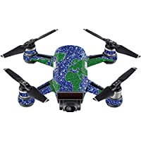 Skin For DJI Spark Mini – Bling World | MightySkins Protective, Durable, and Unique Vinyl Decal wrap cover | Easy To Apply, Remove, and Change Styles | Made in the USA