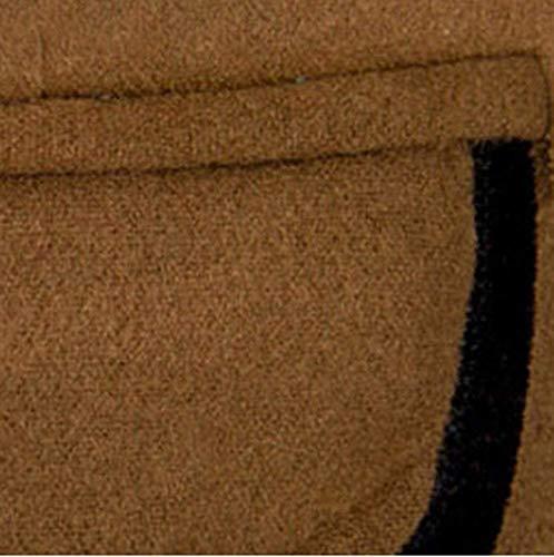 Abbigliamento 2 Slim Uomo Moderna Motivi A Giacche Affari Suit Bottoni Casual Braun Da Eleganti Blazer Giacca Fit Stampati qt05vEwE
