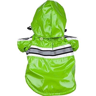 Reflecta-Glow Reflective Waterproof Adjustable PVC Pet Raincoat by Pet Life