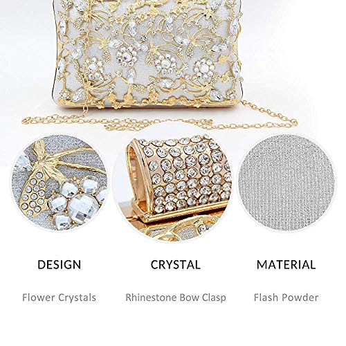 Women Diamond with Women Strap Superw for Purse Bridal Evening Handbag Clutch and Bag Bags Clutches B Clutch Hollow HpwPq