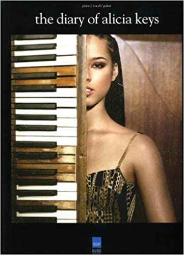 Book The Diary Of Alicia Keyes Piano Vocal Guitar Songbook Book by VARIOUS (2011)