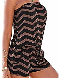 Sexyshine Women's Strapless Off Shoulder Printed...