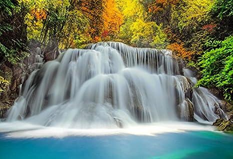 Amazoncom Yeele 10x8ft Waterfall Backdrop Majestic Beautiful
