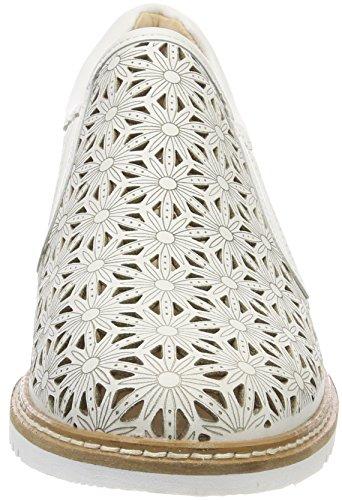 Blanco Mujer 102 white 24505 Nappa Mocasines Para Caprice qpx1gZwTzn