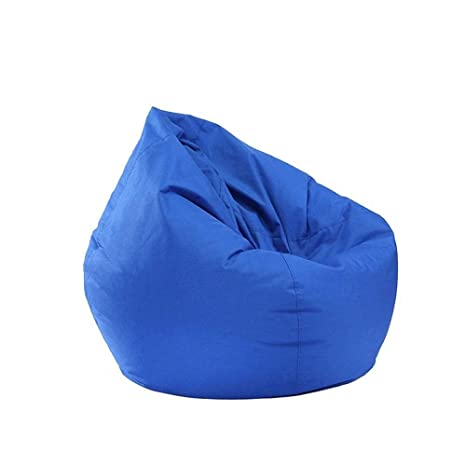 Admirable Inwinner Waterproof Removable Slip Bean Bag Chair Large Storage Bean Bag Lounger Sack Oxford Chair Cover For Kids Teens And Adults Blue Camellatalisay Diy Chair Ideas Camellatalisaycom
