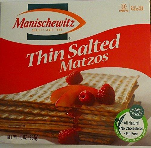 Manischewitz Matzo Thin Salted, 3 count (Matzo Thins)