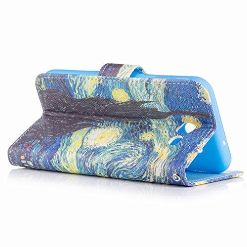 Yiizy Samsung Galaxy J3 Prime Custodia Cover, Sogno Della Città Di Notte Design Sottile Flip Portafoglio PU Pelle Cuoio Copertura Shell Case Slot Schede Cavalletto Stile Libro Bumper Protettivo Borsa