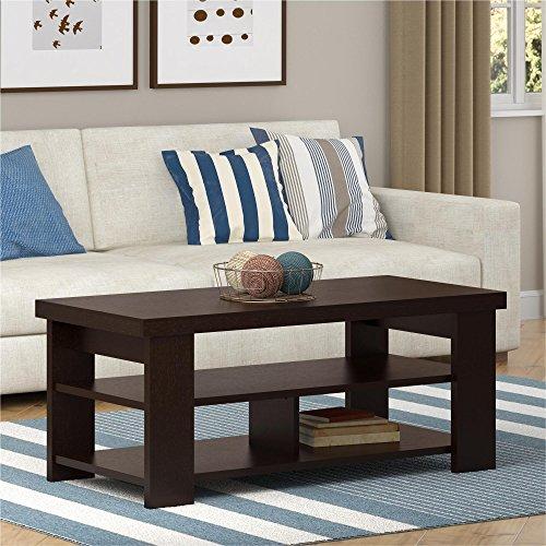 espresso coffee table living room - 7