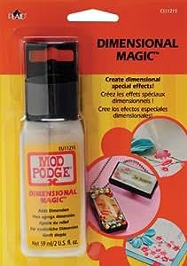 Mod Podge Dimensional Magic (2-Ounce), CS11215 Clear