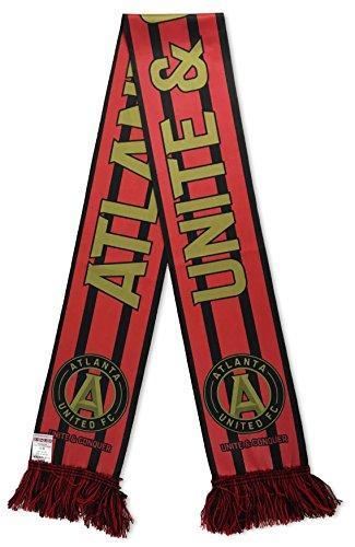 MLS Atlanta United Soccer Scarves, One Size, Red (Stadium Scarf)