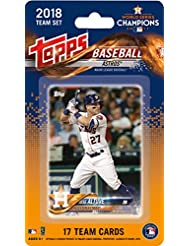 Houston Astros 2018 Topps Factory Sealed Special Edition 17 Card Team Set with Jose Altuve, Alex Bregman and Carlos Correa Plus 2017 World Series Champions