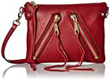 Rebecca Minkoff Moto Jon Crossbody, Deep Red