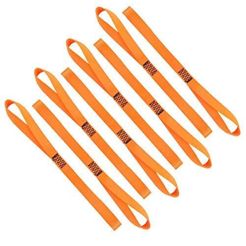 XSTRAP Soft Loop Tie-Down Straps, 8pk x 18inch, 3600 ()