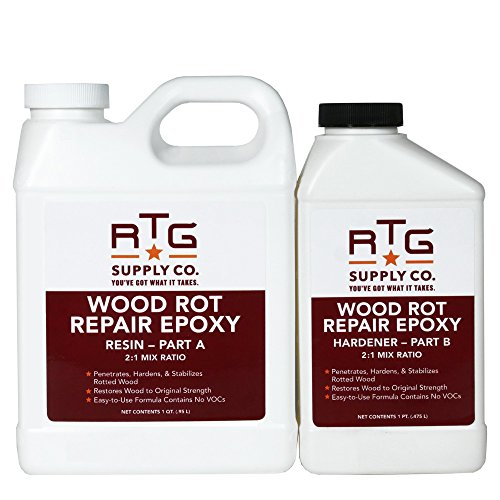 - RTG Wood Rot Repair Epoxy (Quart)