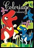 Cartes velours les dinosaures (Cartes velours à colorier)
