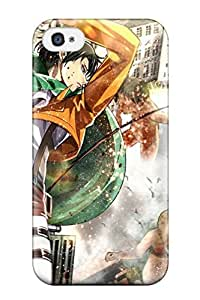Premium Durable Anime Shingeki No Kyojin Rivaille Guys Fashion Tpu Galaxy S5 Protective Case Cover