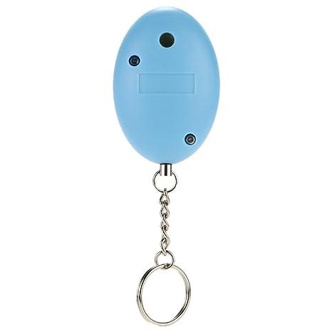 Delipop 2 conjuntos de defensa personal 120 db alarma Mini portátil llavero alarma de seguridad de alarma para alarma de seguridad antirrobo