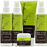 5pc Care System For Synthetic Hair By BeautiMark- Formulated for Synthetic Hair Wigs Extensions Hairpieces