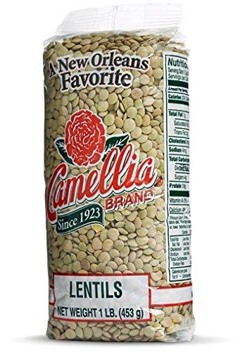 Camellia Brand - Lentils, Dry Bean (1 pound bag)