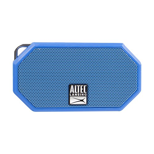 Altec Lansing IMW258 Mini H2O 3 Portable Bluetooth Waterproof Speaker (Blue)