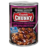 Campbell's Chunky Pub Inspired Blazin' Roadhouse Chili-Style Soup, 540ml, 24 Count