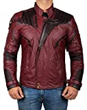 chris pratt merchandise - Star Lord 2018 Jacket - Chris Pratt Avengers 3 Movie Leather Jacket and Merchandise | Infinity War, XL