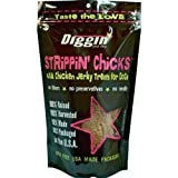 Diggin' Your Dog 1 Piece Strippin Chicks Chicken Jerky for Dogs, 8 oz