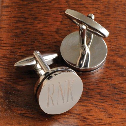 Pin Cufflinks - Personalized Pin Stripe Cufflinks