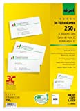 Sigel LP802 Business Cards, 3C, smooth cut all around, 168.9 lbs, bright white, 800 pcs.