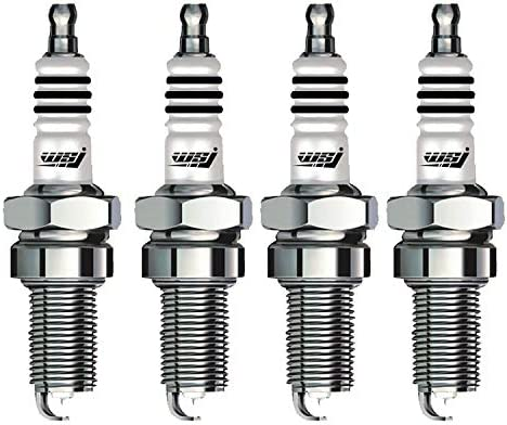 Motorcycle Spark Plug 18mm Thread 71mm Length Aluminium Sparking Plug for Kawasaki Ninja 250/300 Z250/300 Z750Z800 Z1000/SX Set of 4