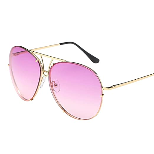 c421e444cd6 Amazon.com  Limsea Hot Sale! Oversized Aviator Sunglasses Flat Top ...